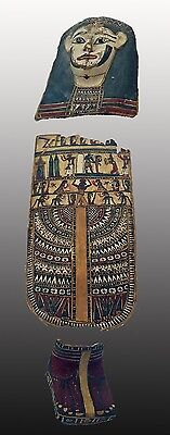 Egyptian Cartonnage  Set   2Nd-1St Century A.d