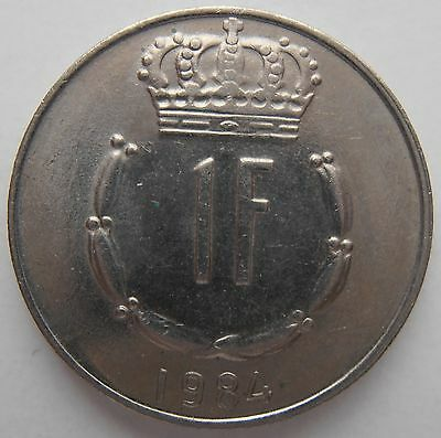 Luxembourg 1 Franc 1984