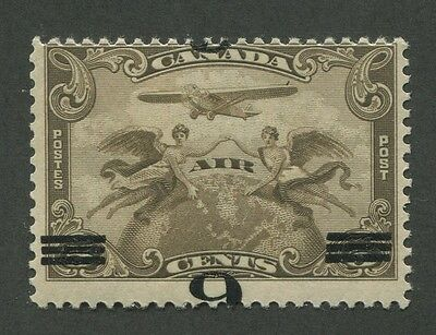 CANADA B.O.B. C3a MINT INVERTED SURCHARGE