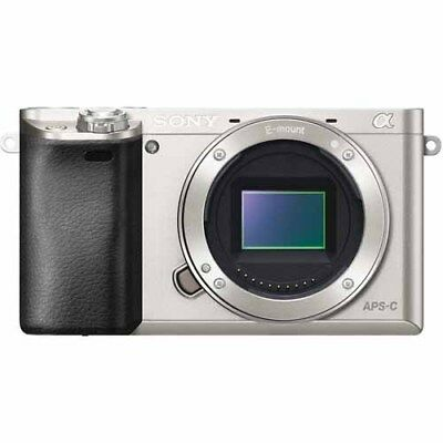 Sony Alpha A6000 Mirrorless Digital Camera Body - Silver