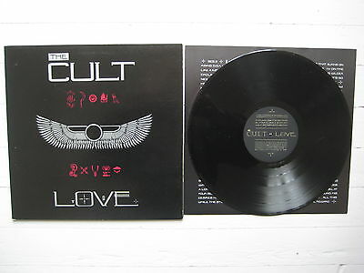 THE CULT 'LOVE' LP 1st pressing on Gatefold Sleeve with Inner Sleeve