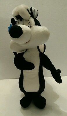 "Vintage Pepe Le Pew Plush 14"" Tall By Applause 1994"
