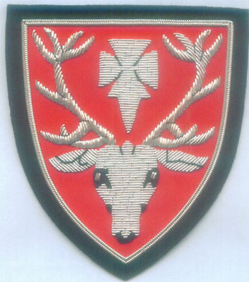UK Oxford University Hertford College Graduation Runion Alumni Crest Arms Patch