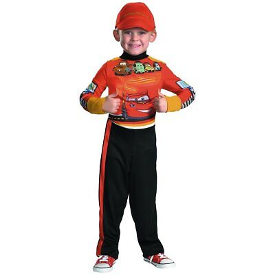 Disguise Disney Cars 2 Lightning Mcqueen Pit Crew Classic Boys Costume - Medi...