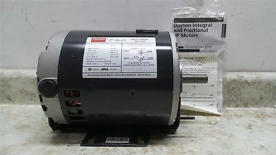Dayton 24C177 1/4 HP 1140 RPM 208-230V Split-Phase General Purpose Motor