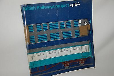 British Railways Project XP64 Express Passsenger Stock Booklet 1964 RARE