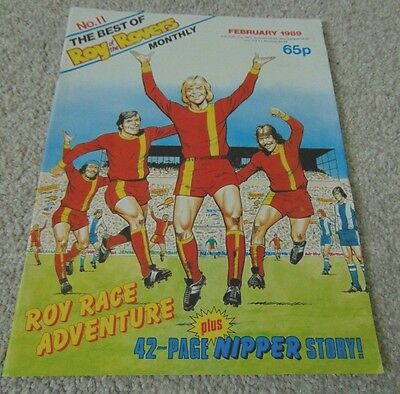 the best of Roy of the Rovers comic no 11 February 1989