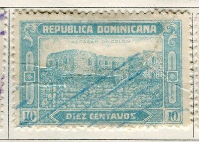 DOMINICA;  1928 early pictorial issue used 10c. value