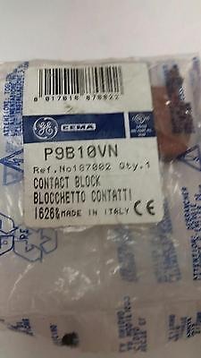 New Lot Of 3 Ge Contact Blocks P9B10Vn 10 Amp Free Shipping