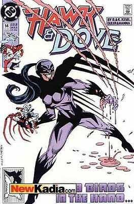 Hawk and Dove (1989 series) #14 in Near Mint condition. FREE bag/board
