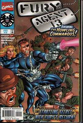 Fury/Agent 13 #2 in Near Mint condition. FREE bag/board