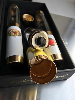 Cigar Humidor Tubes With Hole Puncher