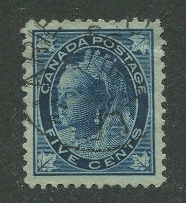 Canada #70 Used Vf Dated Cds