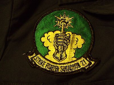 US Military Navy Uniform Coveralls W/ Strike Fighter Squadron 27 Patch Pilot