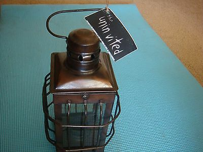 "Uninvited Dreamworks movie prop candle holder ""Antique Look"" Lantern"