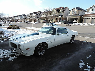 1970 Pontiac Trans Am  1970 Trans Am 4-speed white