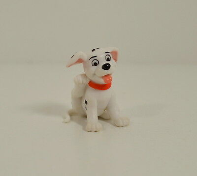 """1.5"""" Mini Dog Puppy Red Collar Scratching PVC Action Figure Disney 101 Dalmation"""