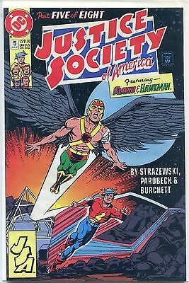 Justice Society of America #5 (Aug 1991, DC), VF/NM