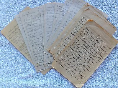MAY 1552 - July 1926, 19 Page Handwritten Family Account, STILLMAM & HEIRS