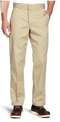 NEW with Tags Dickies 34in. X 30in. Khaki Original Fit Work Pants 874   34X30