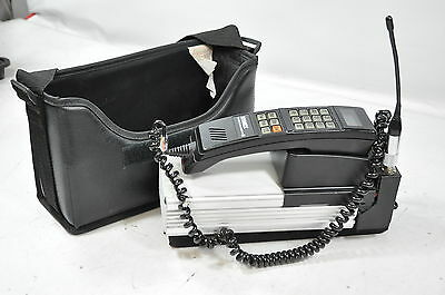 Vintage Motorola/NYNEX Mobile Communications Car Phone with Case #163