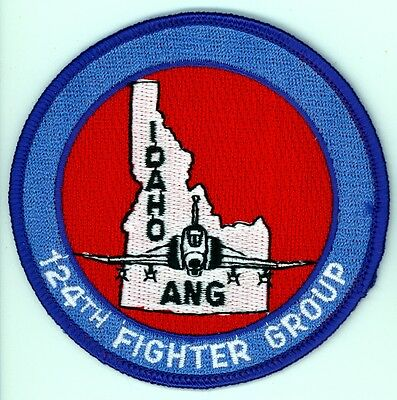 Vintage 124th Fighter Group Idaho U.S. Air National Guard Patch USAF