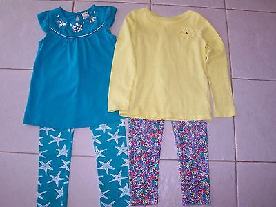 Girls Size 6 6x Gymboree Carter's Spring Tops Leggings Pants Outfits