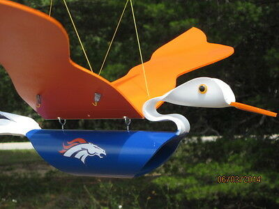 Make Flying Ducks & Eagles - Boncos Packers Steelers Patriots PVC Pipe Birds New