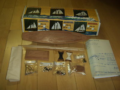 Bluenose Wooden Ship Model Kit - Leclerc