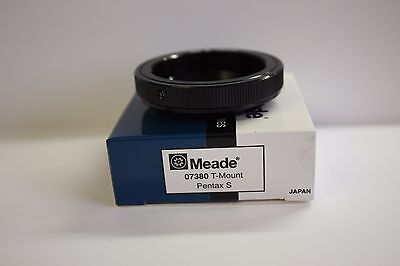 Meade 07380 T-Mount Ring for Pentax S SLR DSLR Astro Imaging Photography NEW!