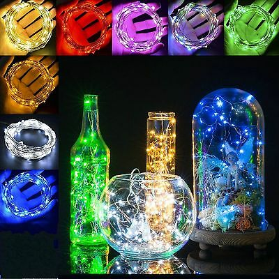 2M 20 LED Copper Wire String Fairy Wedding Light Lamp Party Decor Waterproof DIY