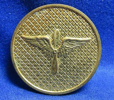 WWI Era 1920s Army Air Service Wings Enlisted Collar Disc GREAT SHAPE