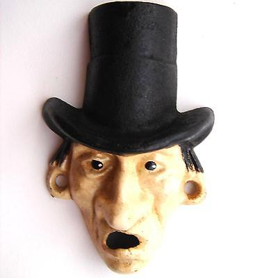 Vintage/Antique Wilton Products Mr. Dry Prohibitionist Wall Mount Bottle Opener