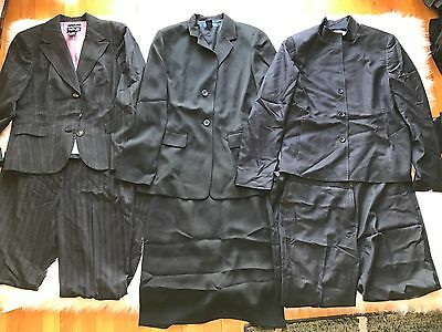 Women's Clothing Lot of 3 Suits Charter Club, Style & Co, Sophisticate Size 10P