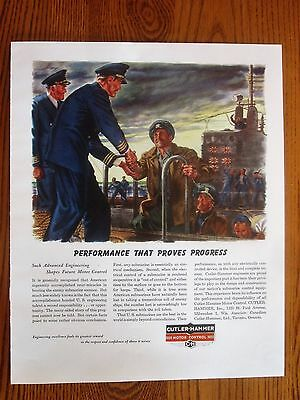 Submarine Captain Welcomed Ashore, Japanese Kills Shown on Sub, WWII Ad