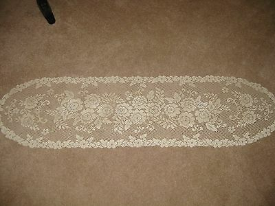 lace flowering table runner