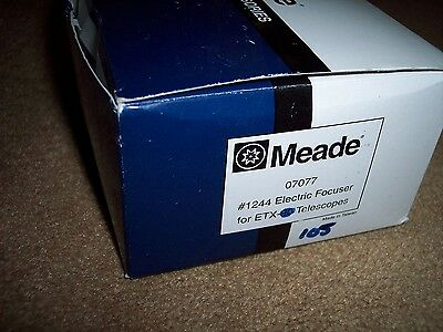 Meade ETX90 or ETX105 telescope electric focuser 1244 NEW IN BOX!