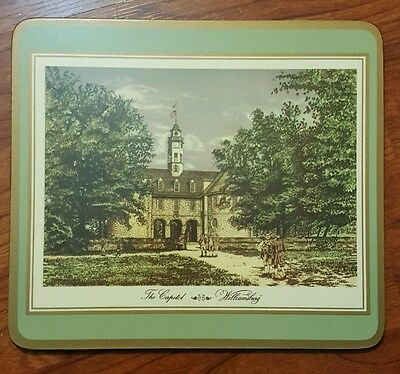 Pimpernel Williamsburg  Place Mats Made In England