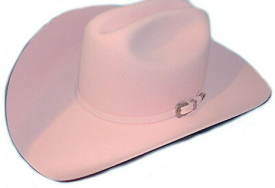 6 5/8 Child or S Adult  Miss Rodeo America USA Made 4x Wool Cowgirl Cowboy hat