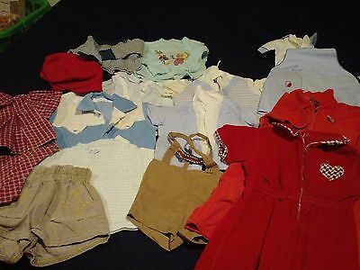VINTAGE 50's BOYS Clothes~BABY Toddler~SHORTS~Shirts Lot of 16