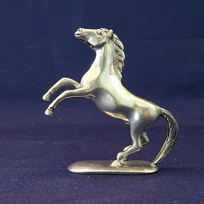 Pewter Metal Miniature Figurine Horse Statue Animal Decorative Collectible Gift