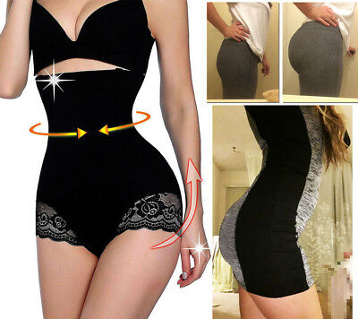 Women Slim High Waist Trainer Tummy Control Shaper Hip Lifter Panties Shapewear