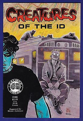 Creatures of the Id #1  Caliber 1990  1st App of Frank Einstein Madman Allred