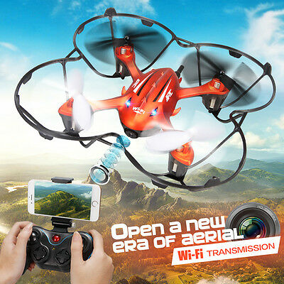 JJRC H6W RC Quadcopter With Video Camera RC Drone UAV UFO FPV RC Helicopter Gyro