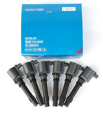 Genuine Machter Ignition Coil Pack Ford BA BF Falcon Fairlane Fairmont Territory