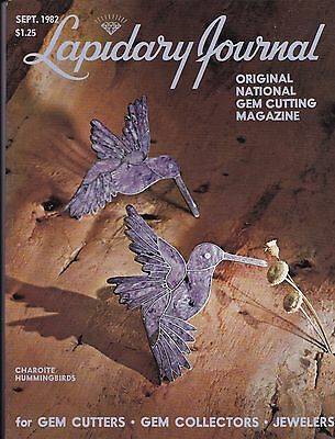 Lapidary Journal September 1982 - for Gem Cutters, Gem Collectors, Jewelers