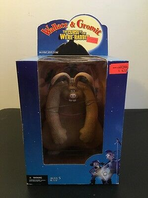 Curse Were-rabbit Wallace & Gromit McFarlane Deluxe Boxed Set 10 Inch 2005
