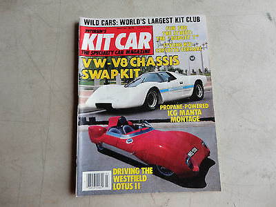 Petersen's Kit Car specialty car magazine VW -V8 chassis swap