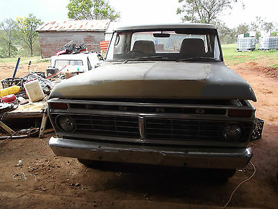 1975 Ford F100 Lwb Unfinished Project