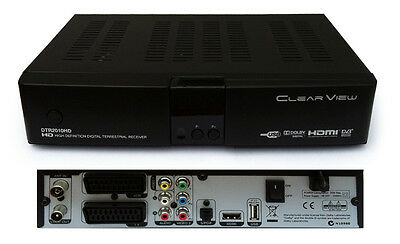 New ClearView DTR2010HD Digital Terrestrial Mpeg4 Receiver/Settop Box